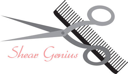 comb: Comb and shears  goal is to pamper you from head to toe and to bring out your individual natural beauty.Pick those design by concord