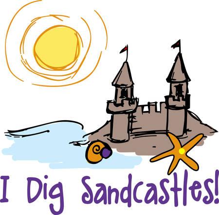 castle sand: Castillo de arena ofrece un toque m�gico al viaje especial recoger estos dise�os de las colecciones de la concordia
