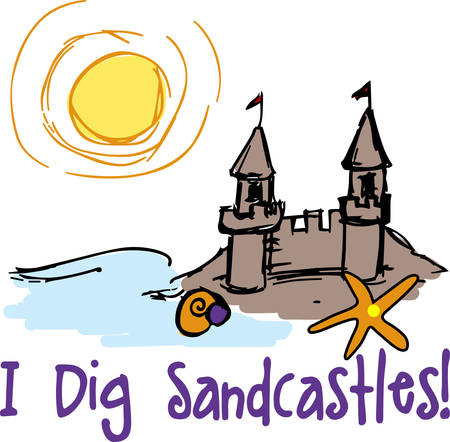sand castle: Sand castle brings a magical touch to the special trip pick these designs from concord collections