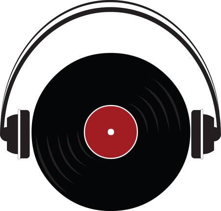 Joueurs de disques sont maintenant des objets de collection. Utilisez cette image dans votre prochaine conception. Banque d'images - 40759463