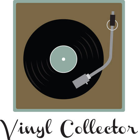 Record players are collectibles now. Use this image with your next design. Ilustração