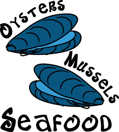 cull: Oysters is one of the tastier sea food cull these designs from concord collections Illustration