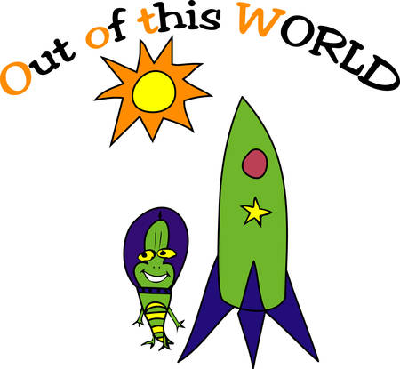 find us: Space ship rocket to help us  to find out the alien .