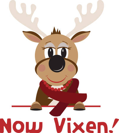 quickness: Vixen are known for their quickness and grace which makes the name fit right in with Reindeer.