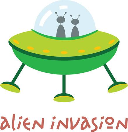 エイリアンは、他の惑星からの生き物です。コンコードでこれらのデザインを選ぶ