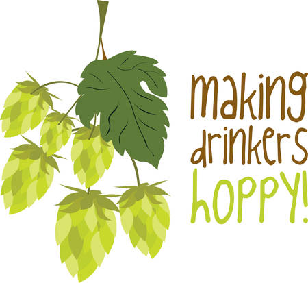 Hops is the key ingredient which makes beer tasty pick these designs from Concord Collections.