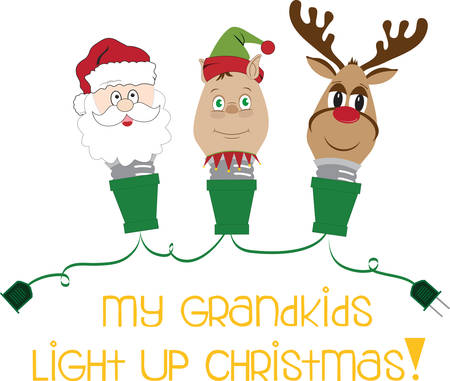 Make your christmas wonderful with different Christmas colourfull light bulbs and Convey message through it