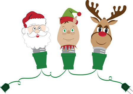 st  nicholas: Make your christmas wonderful with different Christmas colourfull light bulbs and Convey message through it