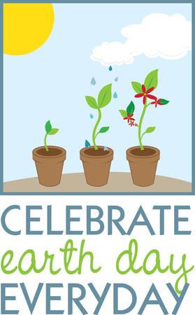 Seedling ayuda a evitar la contaminación del aire. Escoja los diseño de Concord. Foto de archivo - 40760506