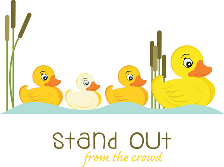 Pick these cute duck family designs from concord collections
