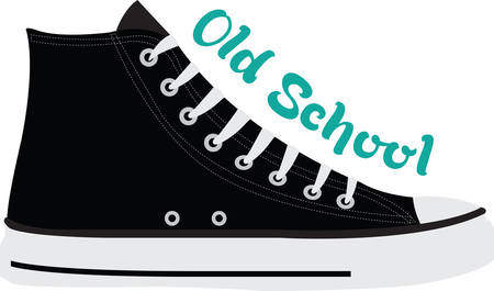 converse: High tops are pumped up for kicks.  Get this image for your next design.