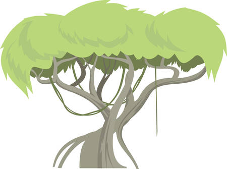 tall tree: A tree is a tall plant with a trunk and branches made of wood designs by Concord