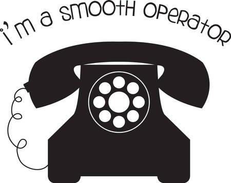 The telephone is the greatest nuisance among conveniences the greatest convenience among nuisances. Illusztráció