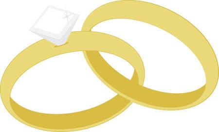 I like wearing my wedding ring, its nice.