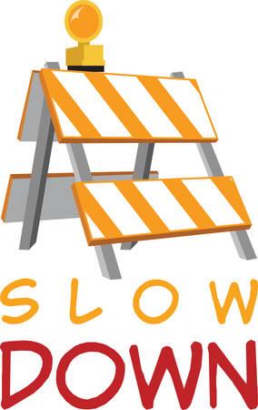 detour: This road detour sign is perfect for your next project. Illustration