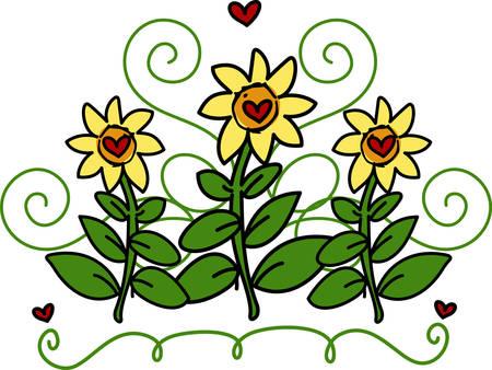 whose: L'amore � come un bel fiore che non posso toccare, ma la cui fragranza rende il giardino un luogo di delizie lo stesso Vettoriali