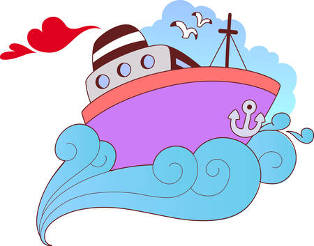 signifies: Pick these love boat designs from concord collections which signifies strength of love