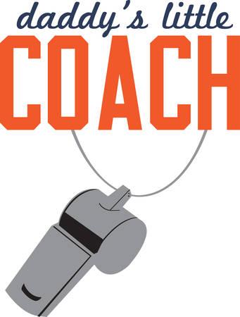 これは、コーチのためのギフトに追加する完璧なデザインです。  イラスト・ベクター素材