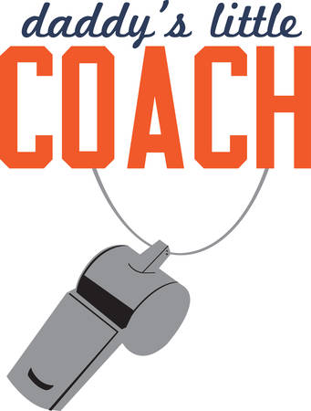 This is a perfect design to add to a gift for coach.