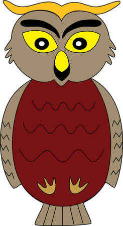 Owl motivates children to be focused pick these designs from concord collections