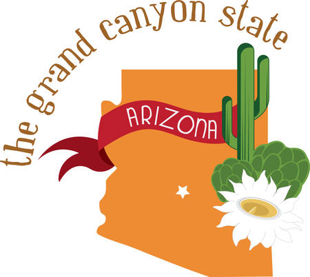 was: Arizona our beautiful state was built on mining. Illustration
