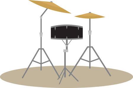 드럼에는 모두 자신의 세부 사항이 있습니다. 스톡 콘텐츠 - 40809483