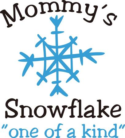 winter fun: Snowflakes bring memories of holidays and winter fun.  Use this snowflake to add a touch of winter magic. Illustration