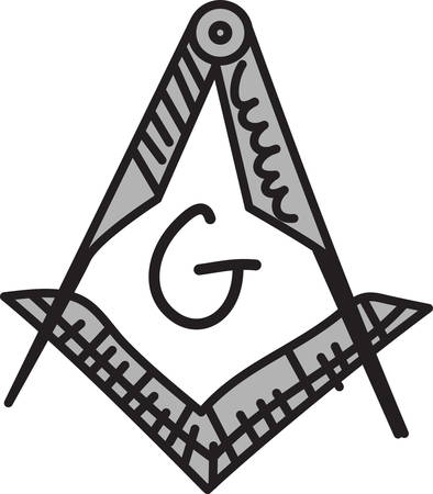 The strength of Freemasonry is in its loyalty to each other Vector