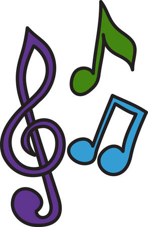 soul music: Music in the soul can be heard by the universe Illustration