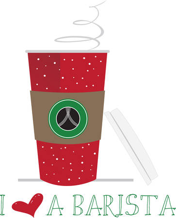 もう一杯コーヒーを楽しむことがある... で目覚めるという最高のものを知っています。  イラスト・ベクター素材