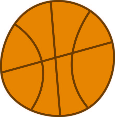 nba: Start a full court press with this basketball design.  Sure to be a three point basket