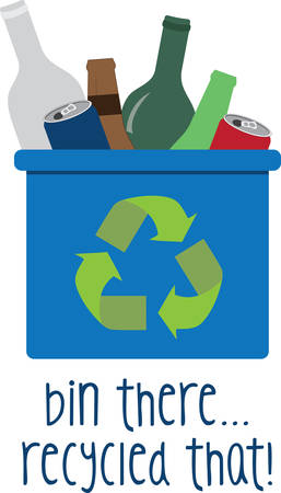 low cost: Recycling is an area where jobs could be created at low cost. Illustration