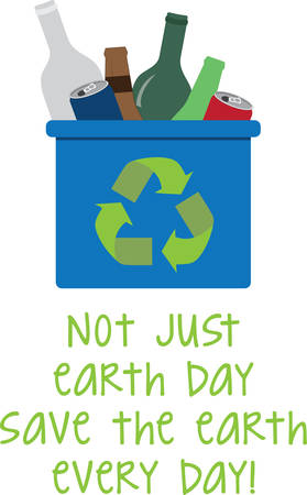 can not: Recycling is an area where jobs could be created at low cost. Illustration