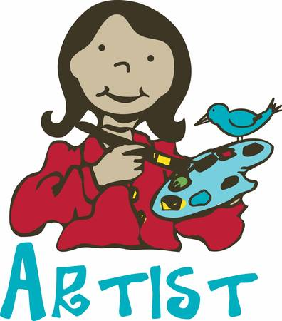 Every Girl is an artist. The problem is how to remain an artist once she grows up. Çizim