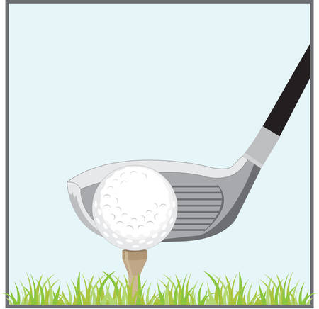 Golf is deceptively simple and endlessly complicated. Ilustração