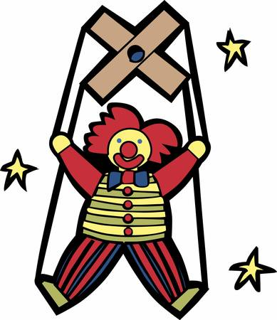 comedian: A marionette is a puppet controlled from above using wires or strings depending on regional variations.Pick those design by Concord.