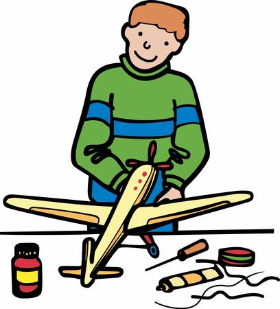 craft supplies: Boys are bery passionate about planes . Pick those design by Concord.