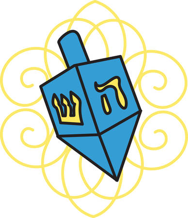 Storkie offers different hanukkah wording suggestions to help personalize cards and invitations. Illusztráció