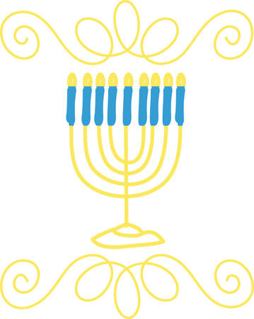 Storkie offers different hanukkah wording suggestions to help personalize cards and invitations. Illustration