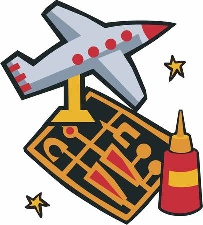 craft supplies: Model Airplane is so small airplane. Pick those design by Concord.