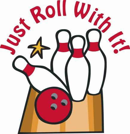 ボウリングのボールや Pins.Pick コンコードでそれらの設計を再生してパーティーをお楽しみください。  イラスト・ベクター素材