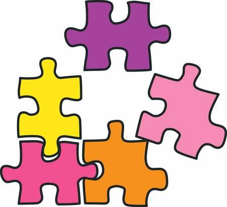jigsaw piece: A jigsaw piece that can be reproduced as many times as needed.Pick those design by concord.
