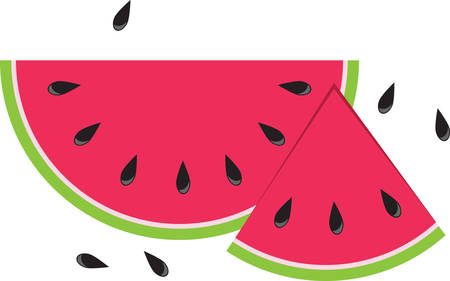 Pick up a sesame seed but lose sight of a watermelon. Иллюстрация