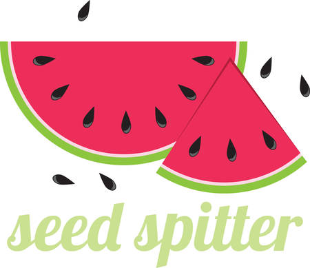 Pick up a sesame seed but lose sight of a watermelon. Stock Illustratie