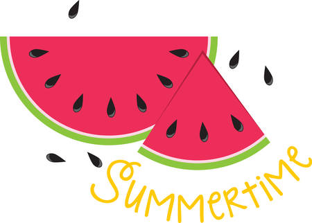 Pick up a sesame seed but lose sight of a watermelon. Ilustracja