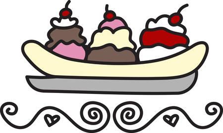 Yo grito grito nosotros todo el grito para el helado Añade esta golosina congelada a su proyecto para la decoración perfecta. Foto de archivo - 41150097