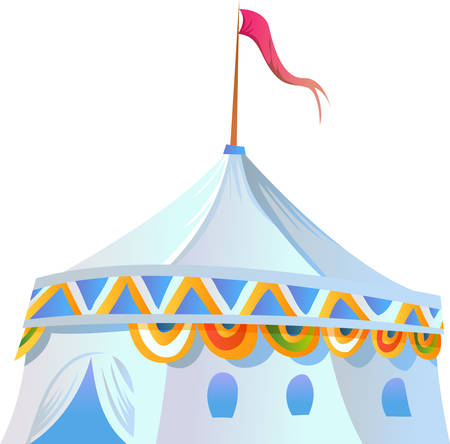 sturdy: Pick the fun and whimsical circus tent made with sturdy canvas fabric designs by Concord