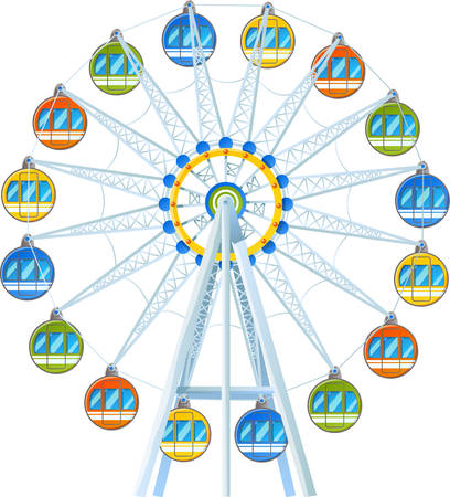 Collect the colourful Giant Wheel Amusement park designs by Concord