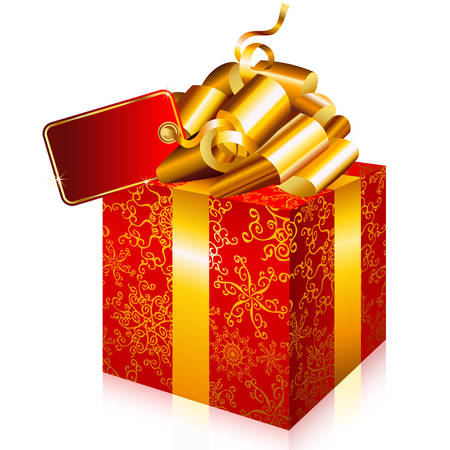 holiday celebrations: Everyone loves a surprise.  Add this Christmas box to your design.