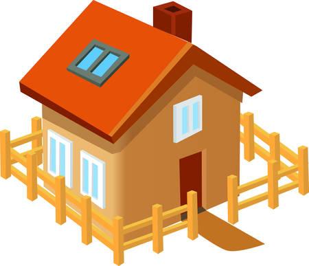 이 귀여운 집은 당신의 다음 디자인에 딱 맞습니다.